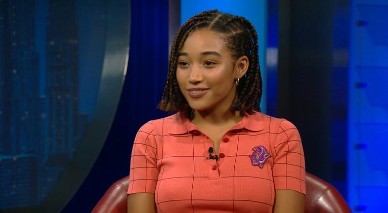 """Amanpour and Company: Actor Amandla Stenberg, Star of """"The Hate U Give"""""""