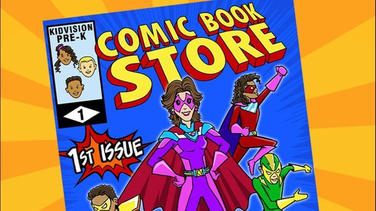 KidVision Pre-K: KidVision Pre-K Comic Bookstore Field Trip