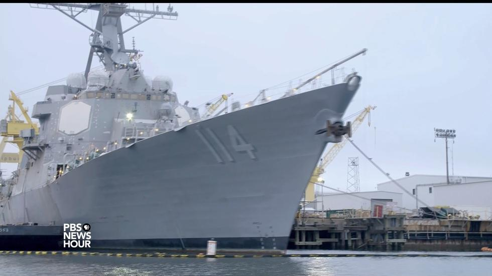 Shipbuilders with safety problems winning military contracts image