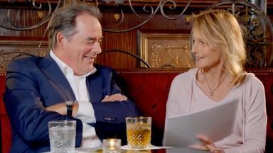 Helen Hunt and Tom Irwin on Beatrice and Benedick