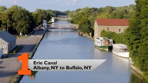 10 That Changed America -- Modern Marvels | Erie Canal Albany, NY to Buffalo, NY