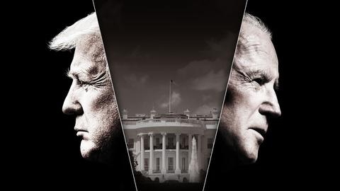 "FRONTLINE -- ""The Choice 2020: Trump v. Biden"" — Trailer"