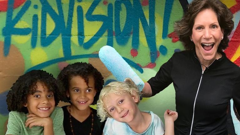 KidVision Pre-K: KidVision Pre-K Wall Art Studio Field Trip
