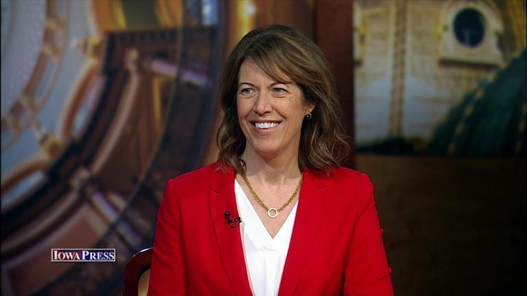 Iowa Press: Congresswoman-Elect Cindy Axne