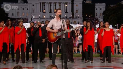 "A Capitol Fourth -- Andy Grammer Performs ""Back Home"""