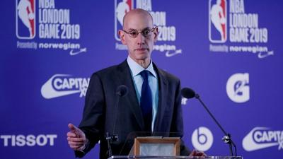 PBS NewsHour | NBA commissioner Adam Silver on playing in a pandemic