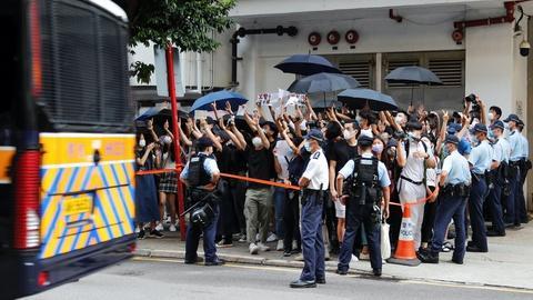 Why this pro-democracy Hong Kong activist fled his home