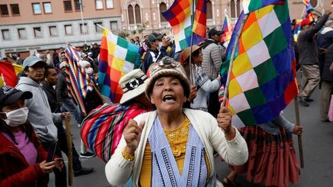 PBS NewsHour -- News Wrap: Bolivia's Morales goes into exile in Mexico
