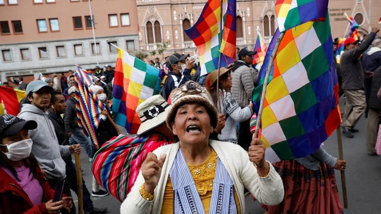 PBS NewsHour: News Wrap: Bolivia's Morales goes into exile in Mexico