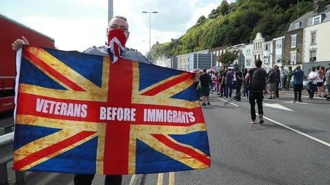 Migrants' passage to the UK is driving political backlash