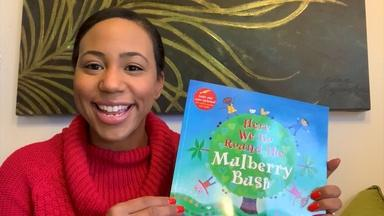 HERE WE GO ROUND THE MULBERRY BUSH - English Captions
