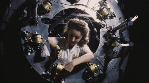 Blue Sky Metropolis -- Women's Work During WWII