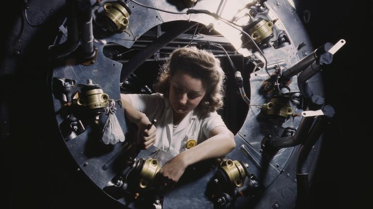 Blue Sky Metropolis: Women's Work During WWII