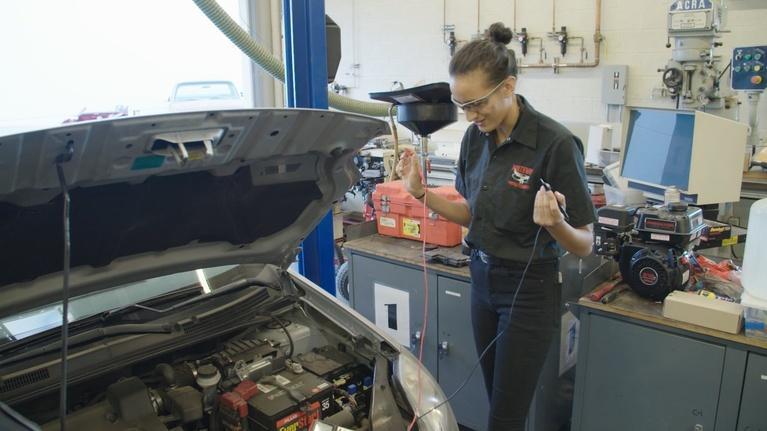 Vegas PBS American Graduate: Preparing Students for Life at Northwest CTA