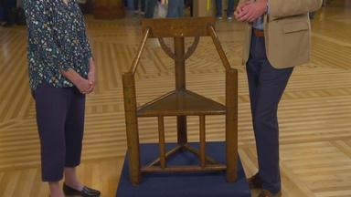 Appraisal: Monk's Chair, ca. 1900