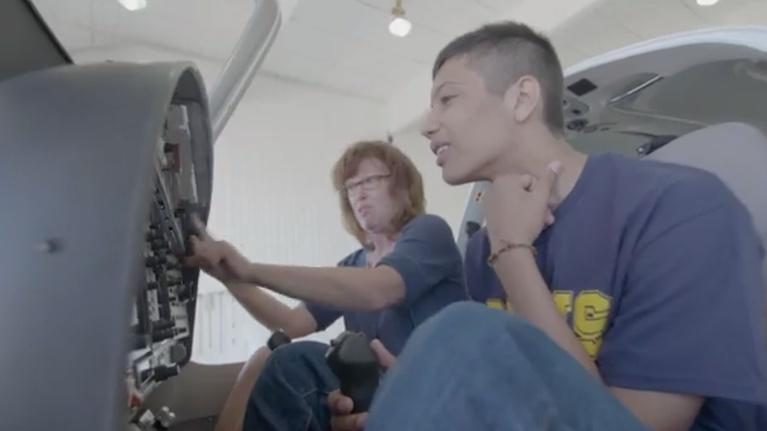 CPT12 American Graduate: Liz Kailey Teaches Aerospace that Stretches Kid's Dreams