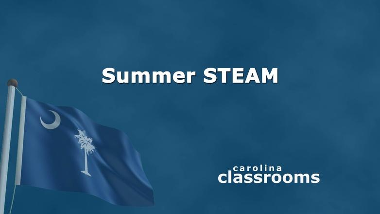 Carolina Classrooms: Summer STEAM logo