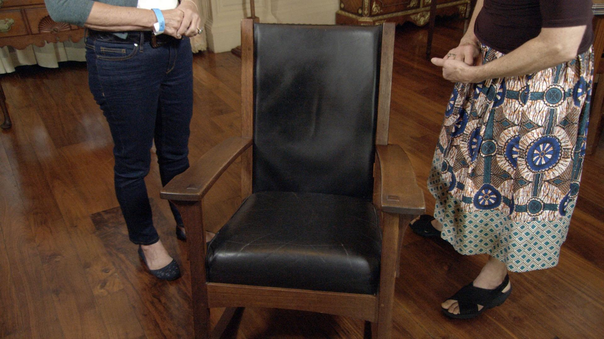 Prime Appraisal L J G Stickley Oak Rocking Chair Ca 1915 Creativecarmelina Interior Chair Design Creativecarmelinacom