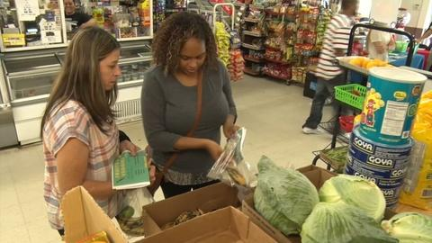 Organizations make an effort to provide healthy food options
