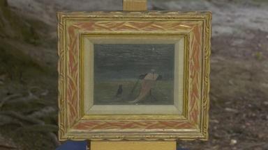 Appraisal: 1945 Gertrude Abercrombie Surrealist Painting