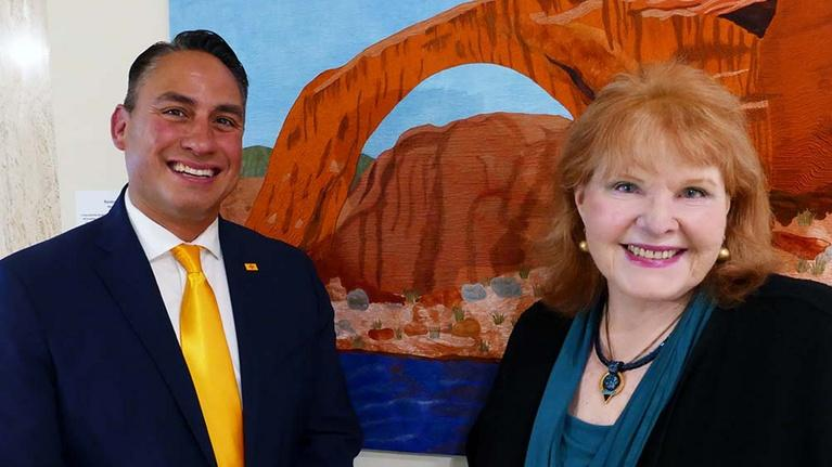 Report From Santa Fe, Produced by KENW: Lt. Governor Howie Morales