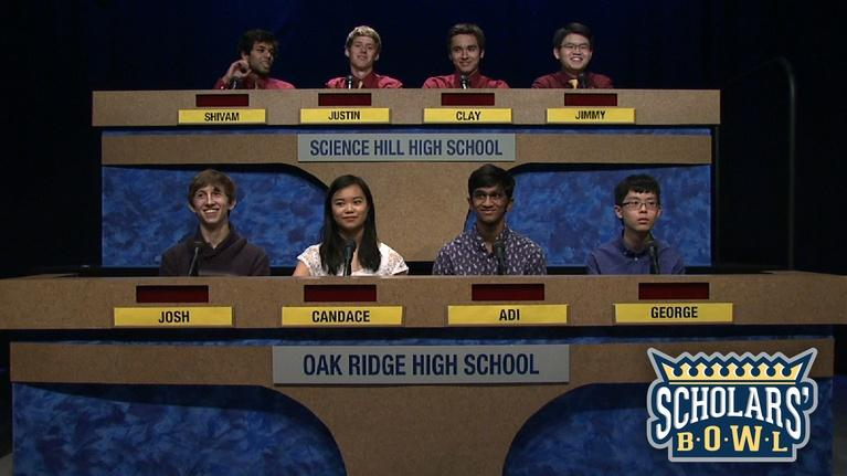 East Tennessee PBS Scholars' Bowl: Oak Ridge vs Science Hill