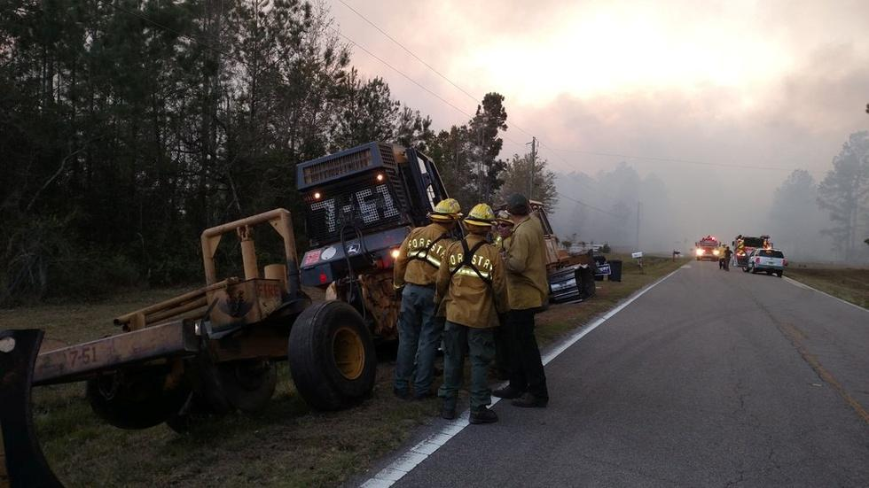 Florida is burning and it's just the start of the dry season image