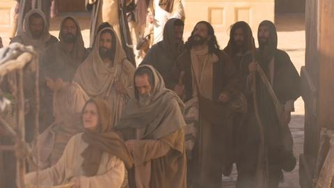 Last Days of Jesus -- Cleansing a Temple