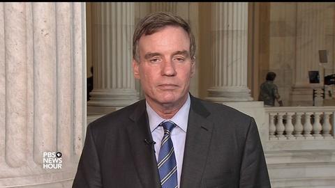 PBS NewsHour -- Warner: I don't accept Trump Jr. 'rookie mistake' defense