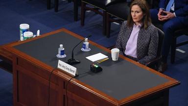 ACA, voting rights highlight Day 3 of Barrett hearing