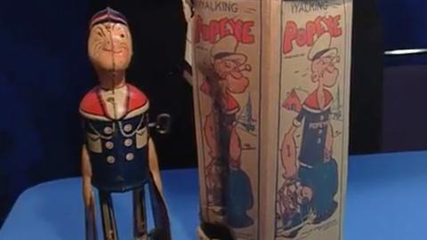 S24 E18: Appraisal: Popeye Tin Toy & Box, ca. 1915