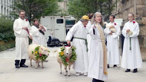Earth's Sacred Wonders -- The Procession of Animals at St. John the Divine