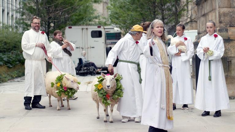 Earth's Sacred Wonders: The Procession of Animals at St. John the Divine