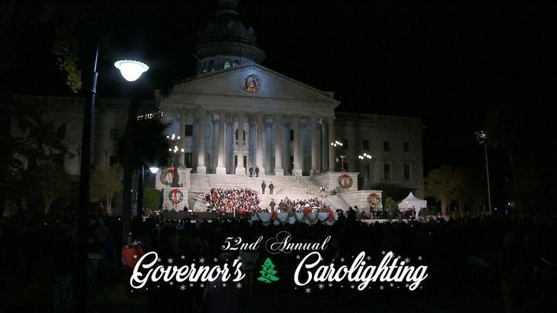 52nd Annual Governor's Carolighting logo