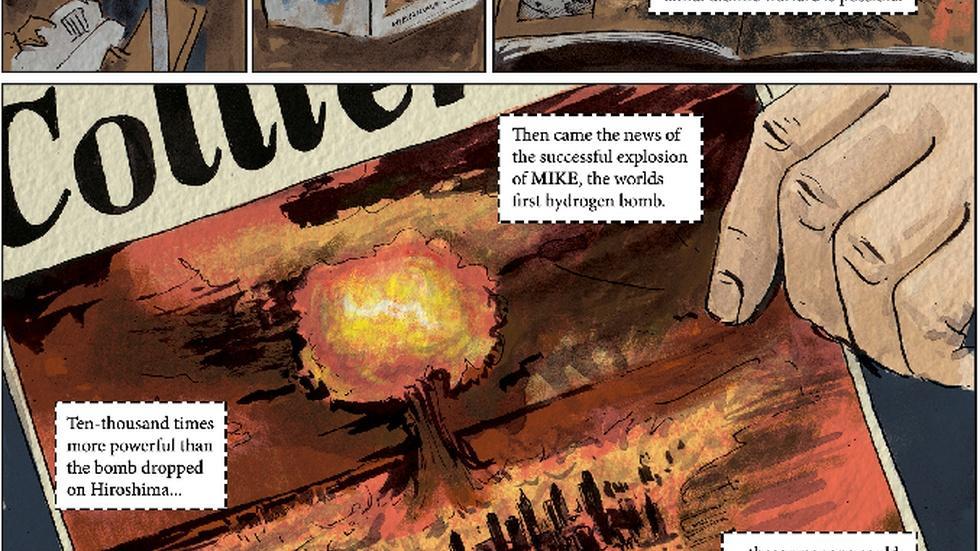 Graphic novel captures Nevada's atomic legacy image