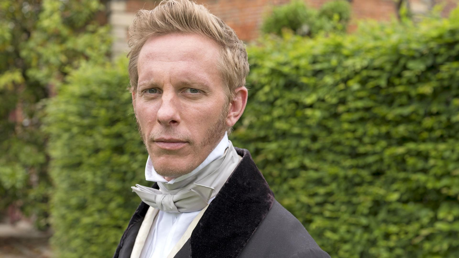 Laurence Fox is Lord Palmerston