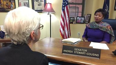 Historic First: A Woman in Charge of the Senate
