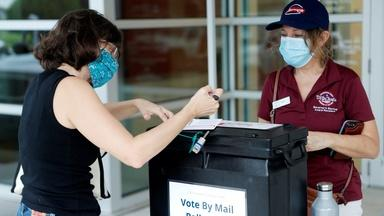 Why election officials disagree with Trump on voting by mail