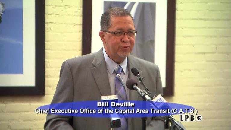 Press Club: 06/05/17 - Bill Deville, CATS CEO, Baton Rouge Bus System Up