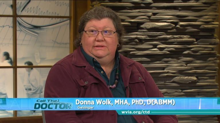 Call The Doctor: Donna Wolk, MHA, PhD, D (ABMM)