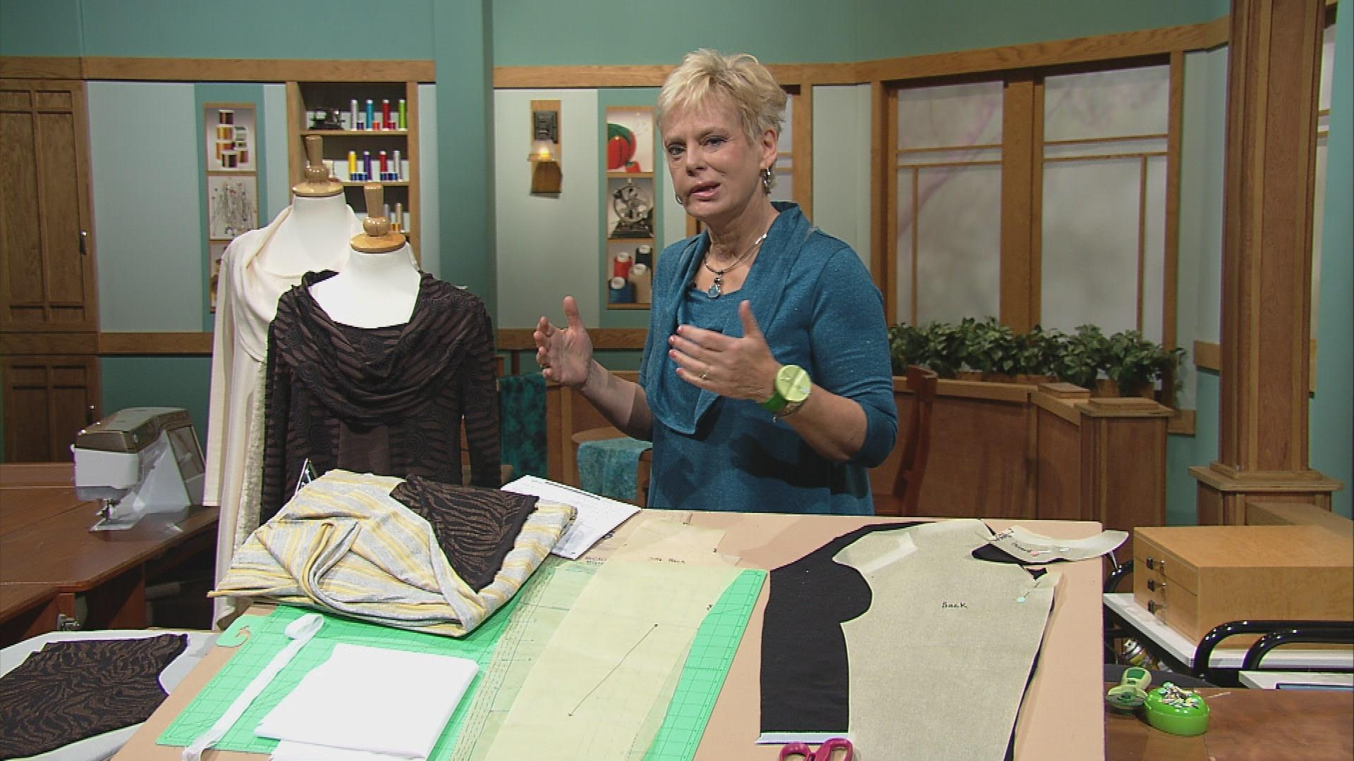 Sewing with nancy pbs sewing todays fashion trends tunics jeuxipadfo Image collections