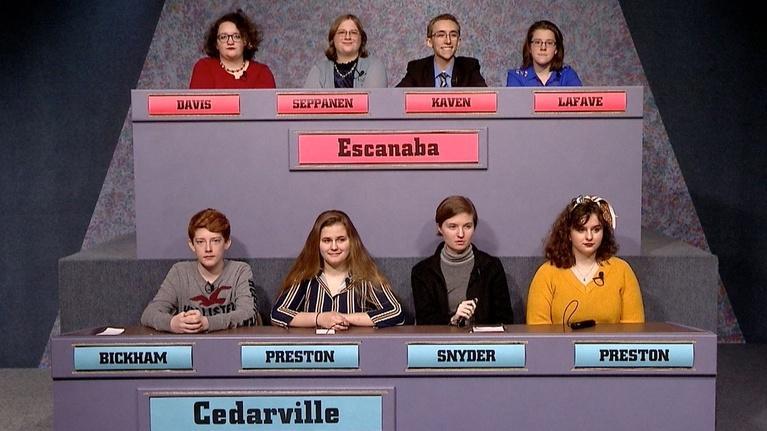 High School Bowl: 4127 Escanaba vs Cedarville