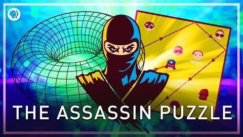Infinite Series -- The Assassin Puzzle