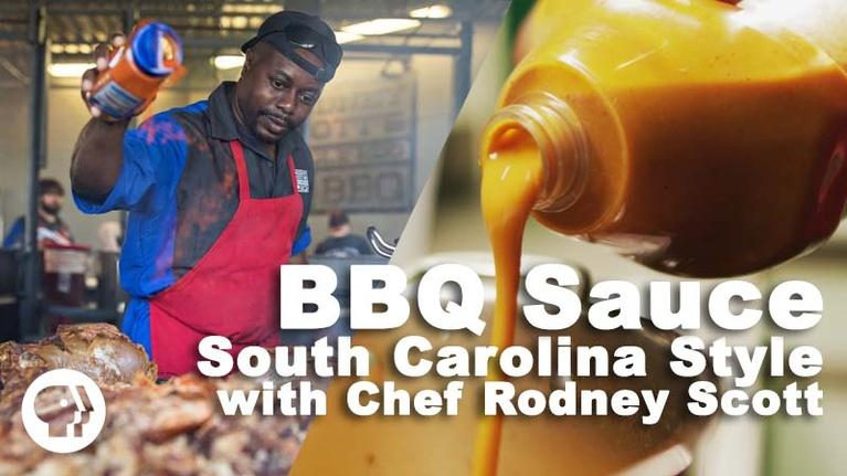Nourish: BBQ Sauce - South Carolina Style with Chef Rodney Scott