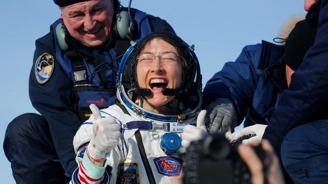 Astronaut Christina Koch on a year without gravity