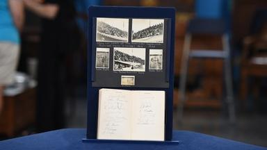 Appraisal: 1934 U.S. All-Star Team Baseball Signatures