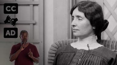 Helen Keller the suffragist [Audio Description]