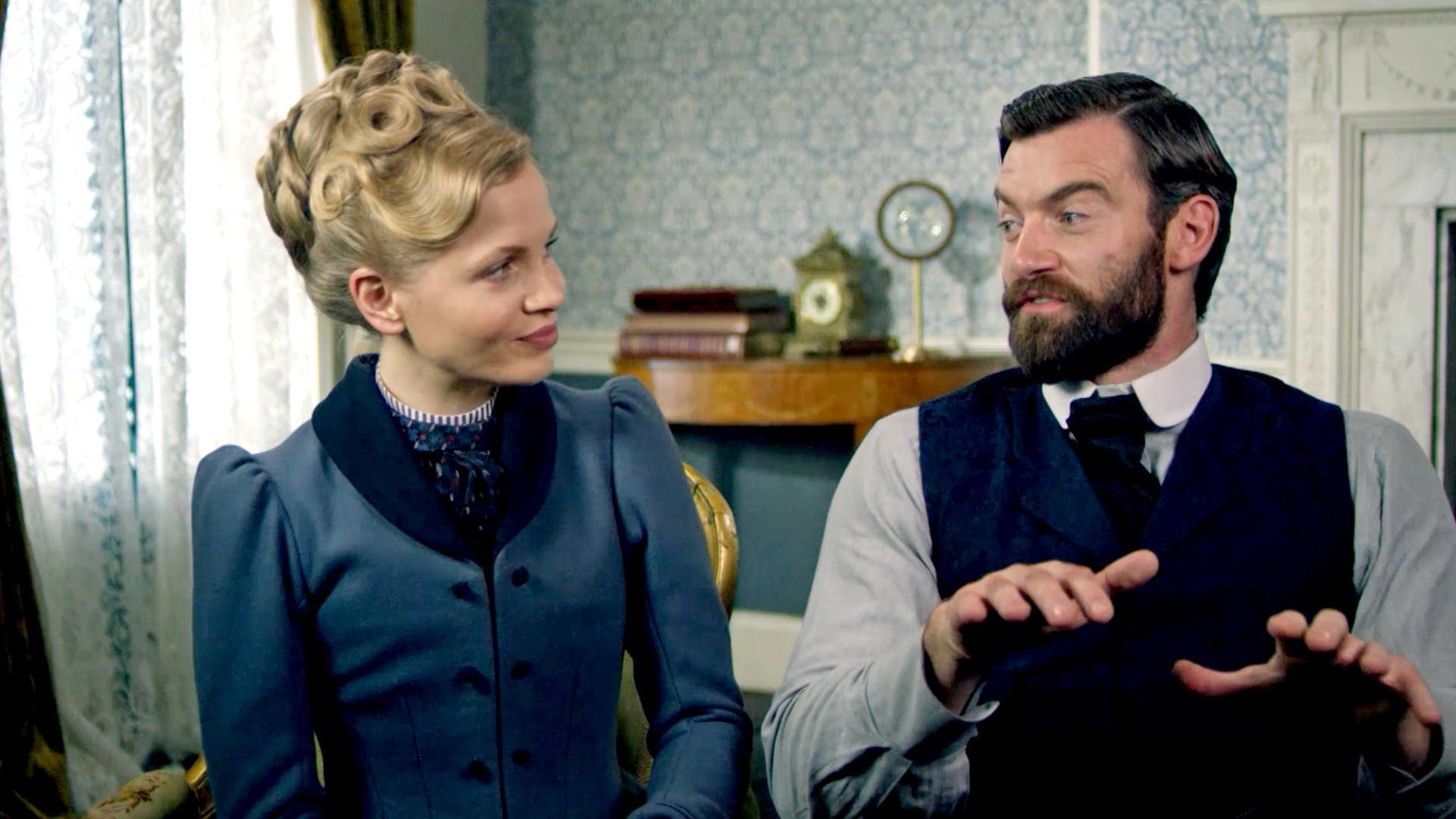 Eliza and William