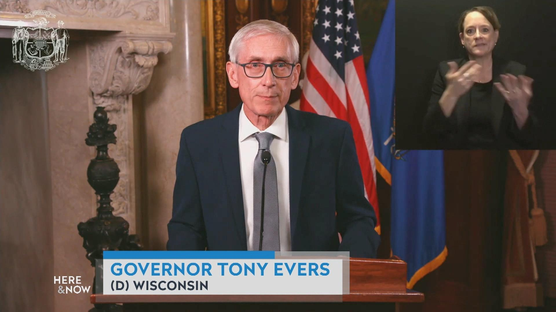 Gov. Evers addresses the Spike in COVID Cases