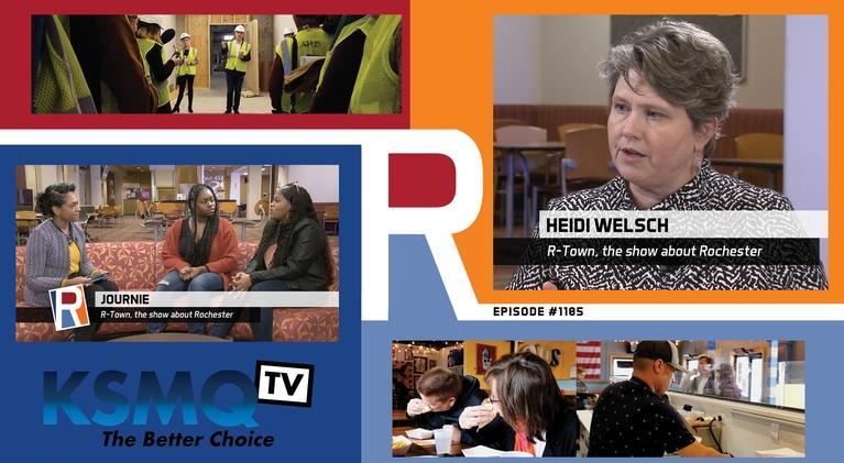 R-Town: Nashauna Lenoir, Myari Glover, Lisa Clarke, and Heidi Welsch